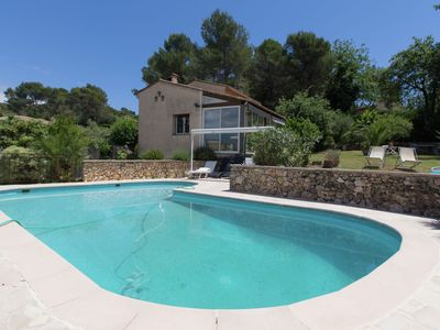 Photo for Villa near Mougins, with large private swimming pool, near the perfume town of Grasse