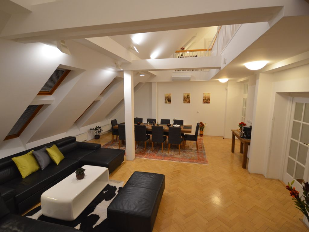 Attic Stepanska - A cote de la Place Wenceslas - Grand Luxury Apartment