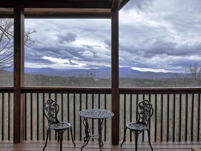 Photo for 1/3mile of Dollywood/Amazing Mts View/wifi/another cabin #1237057 1mile away