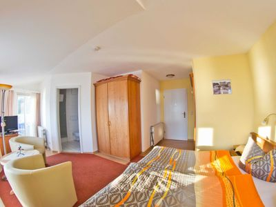 Photo for 2) Double room with terrace and panoramic sea view - ferry view