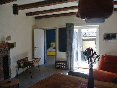 Photo for Our apartment, mix of old and design, is at the foot of Mount Lema