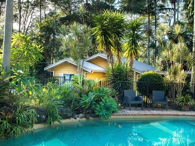 Photo for Private Rainforest Cottage in Beautiful Currumbin Valley