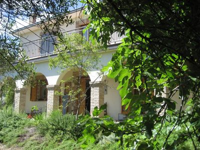 Photo for Beautiful farmhouse in olive grove with private pool
