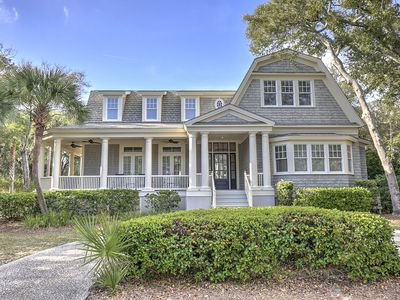 Photo for 3 Iron Clad -2nd Row Ocean,  Island Oasis nestled in Palmetto Dunes Resort