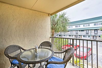 The Sea Palm Condominiums community is the perfect retreat for snowbirds.