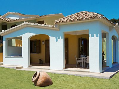 Photo for 2 bedroom Villa, sleeps 4 with Air Con, WiFi and Walk to Beach & Shops