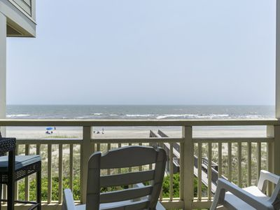 Photo for 1st Step: 3 Bed/2 Bath Oceanfront Condo with Community Pool