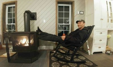 kick your feet up around the cozy fire