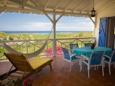 Photo for Sainte Anne:  Creole Villa with Wonderful view on sea and islets CapChevalie