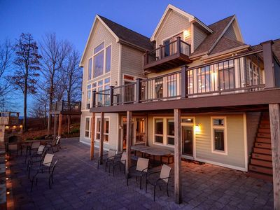 Photo for Peregrine's Perch- Lake Access Home w/ Indoor Pool & Community Dock