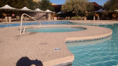 Photo for Fabulous Desert Ridge No Stairs Luxury Condo Heated Pools-Hot Tub-Gym