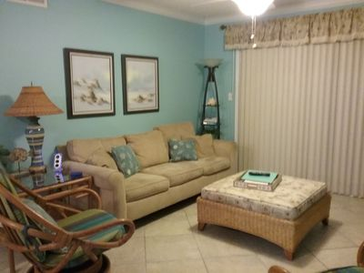 Photo for CLEAN and NEWLY Renovated!  Relaxed and Fun Decor.  2B/2B with W/D