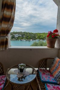 Photo for Apartment Art  A2(4) Adria  - Grebastica, Riviera Sibenik, Croatia