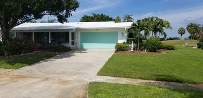 Photo for 2 bedroom 3 bath golf course home.           Available April 15th on.