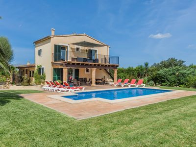 Photo for Can Guixa Wonderful Villa with Private Swimming Pool and beautiful green Gardens ! - Free WiFi