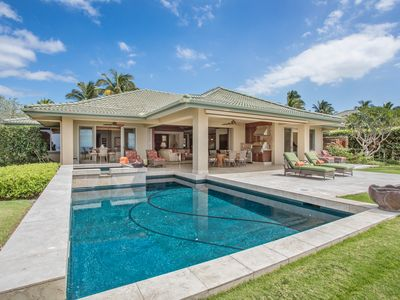 Photo for This luxurious stunning island style home at Wai'ula'ula is built to entertain with indoor and outdo