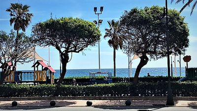 Photo for Costa Del Sol, First Line Beach Front Condo, 25 Yards To Sandy Estepona Beach.