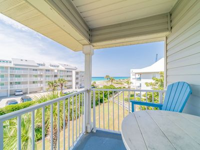 Photo for Gulf Views, Large Community Pool, Tennis Court Book now for Winter! SWEET SPOT