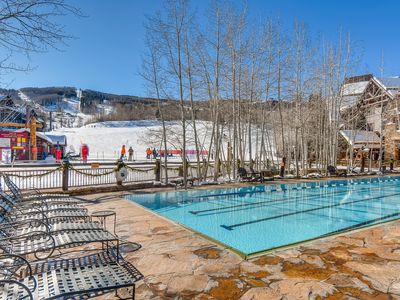 Photo for Professionally Cleaned Ski-in/out Executive Luxury Residence in the Ritz Carlton