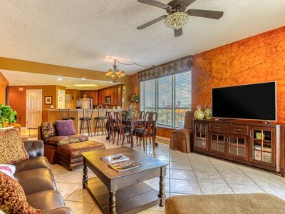 Photo for Amazing beachfront home with view of the gulf, shared pool and amenities