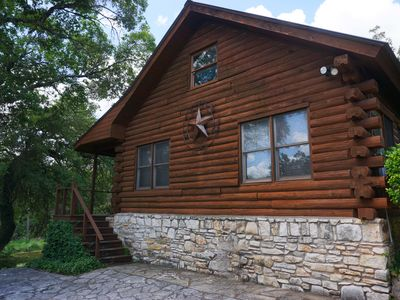 Photo for Adorable Log Cabin on the banks of Smith Creek!