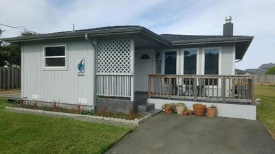 Photo for Whale Watch Cottage 1 block from beach