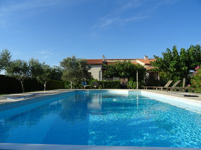 Photo for Dream villa beneath the Ventoux... incl. heated pool, Wi-Fi & cleaning service!