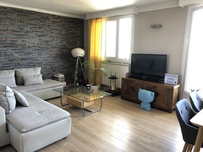 Photo for Pretty T3, 4 people, 70m² open view, balcony, Montpellier south