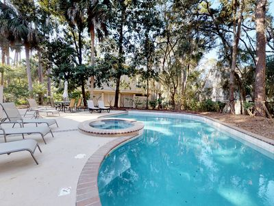 Photo for Beach living at its finest, with private pool, full kitchen, free WiFi and more!
