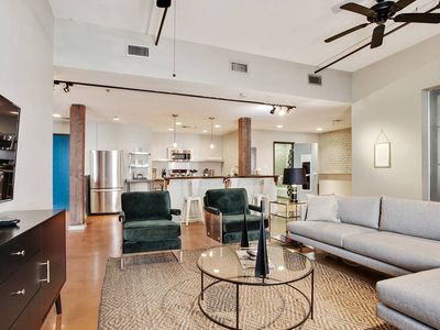 Photo for Impressive 2BR/2BA Industrial Apt in NOLA by Domio