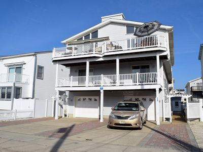 Photo for South end Townsend Inlet beachblock townhome is located only 7th from the ocean!