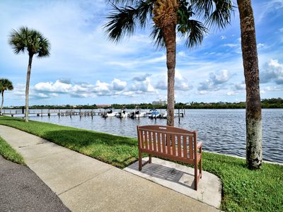 """Come relax waterside at """"Paradise Shores"""" at Golden Shores Condos."""
