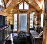 Great little cabin- upstairs for kids and master