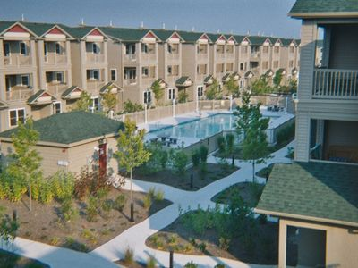 Photo for ..Wildwood Square Townhouse, with great pool, sleeps 8