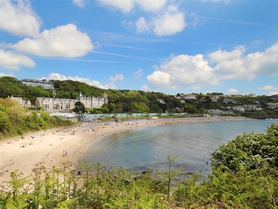 Photo for This beautifully presented beachside bolthole is in a fabulous location overlooking the sea at Langl