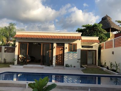 Photo for Beautiful New One Bedroom Casita with large swimming pool.