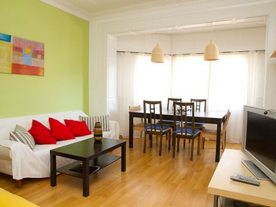 Photo for 3BR Apartment Vacation Rental in Barcelona, Cataluña, Catalonia