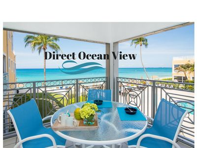 Photo for Regal Beach 122-Ultimate Caribbean View!  Perfect  Location! by CaymanVacation