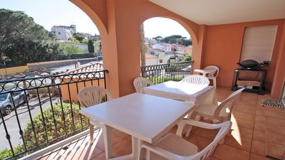 Photo for Apartment T4 - 6 people - Wifi - Air conditioning - Pool residence - Sainte Maxime