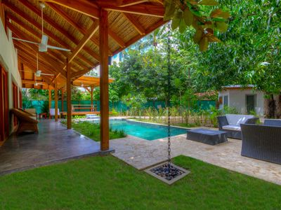 Photo for Luxury Home in the HEART of Nosara Section G – steps to the beach