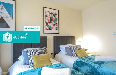 Photo for Tudors eSuites beautiful two bed apartment in Central Location