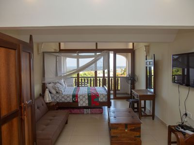 Photo for Studio Room 308 with a Breath taking view of Diani Beach.