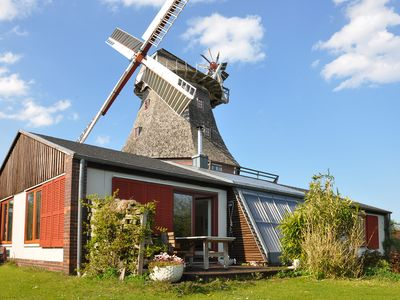 Photo for Comfortable holiday home, exclusive location on the windmill, near Warnemunde