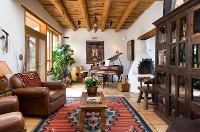 Living Area - Welcome to Santa Fe! This stunning home is professionally managed by TurnKey Vacation Rentals.