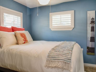 Photo for New Cheerful 1 Bed upstairs unit just steps from  famous Cocoa Beach.