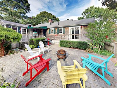 Photo for Entertain w/ Patio & 2 Decks! 3BR Cape Cod Getaway - Near Main Street & Beach