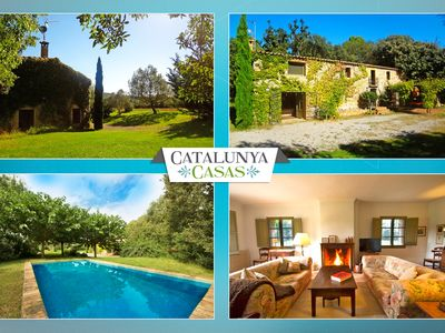 Photo for Catalunya Casas: Cozy Villa Espinada for 6 guests, tucked away in the Catalonian countryside