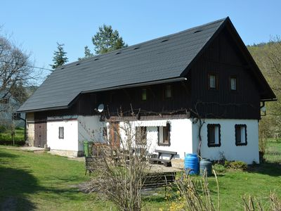 Photo for Nice holiday home in the Jizera Mountains in the Bohemian Paradise, only 150m from the river
