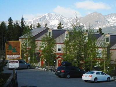 Photo for Spacious mountaintop townhome with great views of Breckenridge.