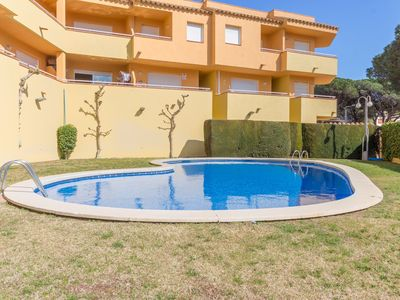 Photo for Apartment in Cala Montgó with pool